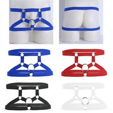 Sexy Men's Harness Boxer Briefs Hipster Backless Underwear Gay Underpants Shorts