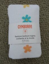 NWT GYMBOREE Fashion Bottom Tights BUTTERFLY BLOSSOMS 12-18 18-24 FREE SHIPPING