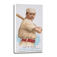 1887 Allen & Ginter N28 John Ward Canvas Art (12x24)