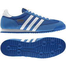adidas ORIGINALS MEN'S DRAGON TRAINERS ROYAL BLUE NAVY SHOES RETRO CASUALS ULTRA