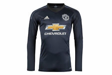 adidas Manchester United 17/18 Home L/S Goalkeepers Football Shirt