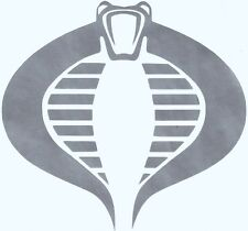G.I. JOE COBRA IMAGE  Vinyl / Decal   U Pick Size & Color
