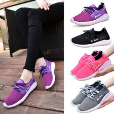 Women Ladies Patchwork Mesh Sport Running Comfy Trainers Athletic Shoes Sneakers