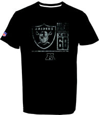 Oakland Raiders T - Shirt Tee,NFL Football,100% BW,Logo,Team,from Majestic