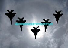 USAF  F-15C Eagle 44th Fighter Squadron Color Photo Military F 15 Aircraft