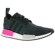 adidas Originals NMD_R1 W Primeknit Boost Shoes Women's Sneakers Black BB2364