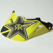 Fox Racing V1 Rockstar 2014 Helmet Visor Black/Yellow