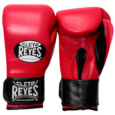 Cleto Reyes Extra Padding Leather Boxing Training Gloves - Red