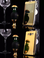 Mirror Luxury View Flip Phone PC Hard Case Cover For Samsung A3 A5 A7