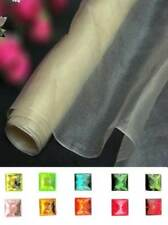 Dark Ivory 100% Pure Silk Organza Fabric Material Bridal Fabric Sheer Voile BN
