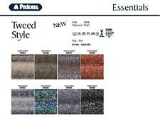 PATONS TWEED STYLE CHUNKY WOOL/YARN - 8 COLOURS - 50g BALLS - WOOL/ACRYLIC BLEND