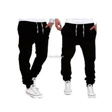 New Mens Casual Jogger Jeans Leisure Sports Jogging Bottoms Harem Trousers SH