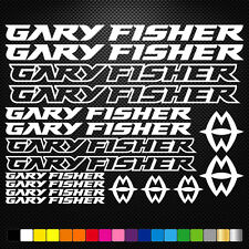 Gary Fisher Vinyl Decals Stickers Sheet Bike Frame Cycle Cycling Bicycle Mtb