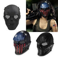Protective Airsoft Paintball SKULL Mask Half Face Airsoft Tactical Military Mask