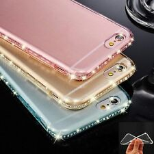 LUXURY DIAMOND ULTRA-THIN SOFT SILICONE TPU CASE COVER IPHONE 6 6S 7 PLUS 5S 5