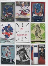 New York Rangers BLOWOUT Lot #2 - Serial #'d - Rookies - Jersey - Autos - U-PICK