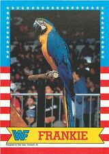 1987 TOPPS WWF WWE WRESTLING CARD PICK SINGLE CARD YOUR CHOICE