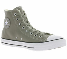 NEW Converse All Star Chuck Taylor CT HI Shoes Real leather Sneaker Grey 149463C