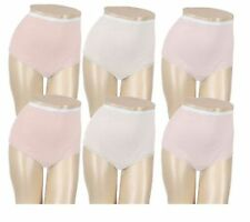 NEW Breezies Set of 5 Pairs Womens Cotton Briefs w/UltimAir Lining A22767