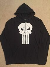 THE PUNISHER SKULL Marvel Comic BOOK movie MEN'S New Long Sleeve Hoodie T-shirt