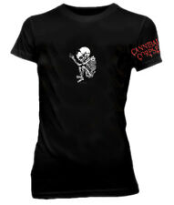 Cannibal Corpse - Baby Skeleton Girls Tee Black Shirt - BRAND NEW
