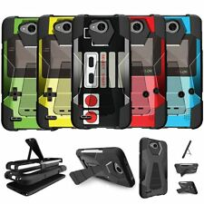 For LG X Power 2 | Fiesta LTE | X Charge | K10 Power | LV7 Armor Case Retro Game