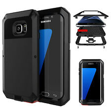 Aluminum Metal Armor Shockproof  Bumper Case Cover for Samsung Galaxy S8 /iPhone
