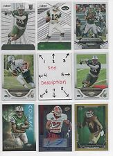 New York Jets BLOWOUT Lot #3 - Serial #'d - Rookies - JERSEY - AUTOS - Comb Ship