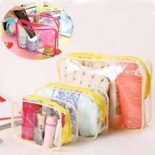 Women Travel Clear Wash Bag Ladies Make Up Case Pouch Toiletry Bags Organizer