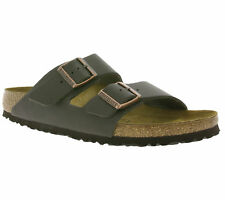 BIRKENSTOCK Arizona BS Men's Shoes Real leather mules Sandal Brown 0051103