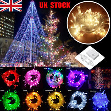 10M Waterproof 220V 100 LED Tail Plug Home Outdoor Christmas Party String Lights