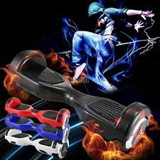 "Certified 6.5"" Electric Hoverboard smart self balancing Bluetooth scooter LED"