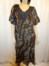 "*NEW* ""Marisol"" Women's Plus Size Float Dress in Leopard Design sizes 2X-3X/WOW!"