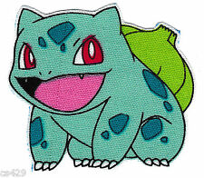 "2""  POKEMON PIKACHU BULBASAUR  ANIME NOVELTY FABRIC APPLIQUE IRON ON  CHARACTER"