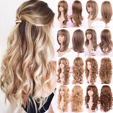 Curly Fulll Wig Women Lady Synthetic Hair Costume Cosplay Hair Natural Curly G8