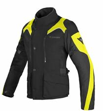 Dainese Tempest D-Dry Womens Textile Motorcycle Jacket Black/Fluo Yellow