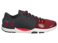 NEW MENS UNDER ARMOUR LIMITLESS TR 3.0 CROSS TRAINING SHOES ANTHRACITE / RED