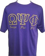 Omega Psi Phi Applique Fraternity Mens Tee