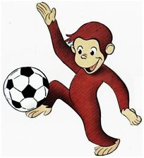 """5.5""""-9.5"""" CURIOUS GEORGE MONKEY CHARACTER WALL SAFE STICKER BORDER CUT OUT"""
