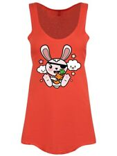 Super Kawaii Pirate Bunny Floaty Women's Coral Vest
