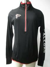 Atlanta Falcons Womens Small and Medium Quarter Zip Screened Track Jacket FAL 26