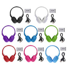 BS-N65 Foldable Bluetooth Wireless Headphone LCD Screen TF MP3 Player FM Radio