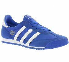 NEW ADIDAS ORIGINALS DRAGON OG Y Shoes Children Trainers Blue BB2486