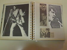 Elvis Presley Memorial Homemade Scrapbook Bubble Gum Cards Clippings