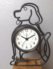 """Wire Dog Alarm Clock Battery Operated 7.5"""""""