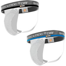 Shock Doctor Core Supporter with Cup Pocket - White