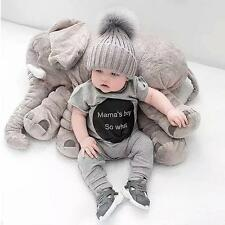 Fashion Baby Elephant Style Doll Stuffed Plush Pillow Kids Toy Room Bed Decor