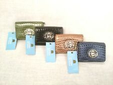 KATHY VanZeeland Mini ID Wallet w/ Credit Card Slots, Coin Pouch & Key Ring-NEW!