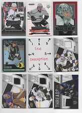 Los Angeles Kings #2 - Serial #'d Rookies - Jersey - Auto - U-PICK - SEE LOT #1