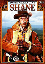 Shane: The Complete Series (DVD, 2015, 3-Disc Set) David Carradine